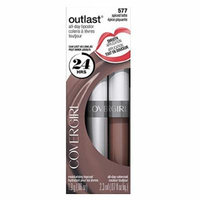 COVERGIRL Outlast All-Day Moisturizing Lip Color, Spiced Latte .13 oz (4.2 g) by COVERGIRL