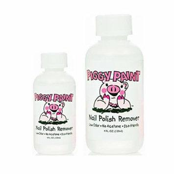 Piggy Paint Nail Polish Remover, 4 Fluid Ounce (2 Pack)