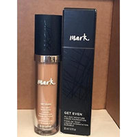 mark. By Avon Get Even Liquid Foundation MEDIUM 10