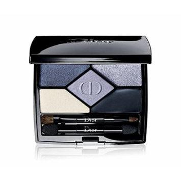 Dior 5 Couleurs Designer Makeup Artist Tutorial Longer-lasting Colour Eyeshadow Palette (208 Navy Design)