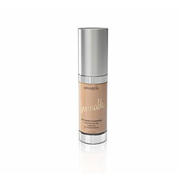 Mirabella Invincible Anti-Aging Full Coverage HD Liquid Foundation - Light (III), 1 fl.oz.