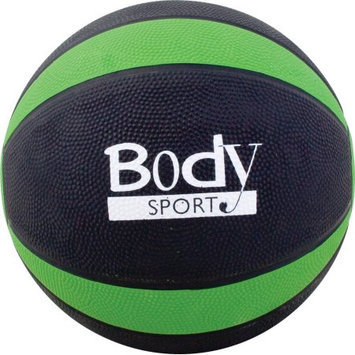 BodySport Medicine Balls-Green, 6lb, Each