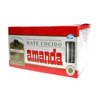 Yerba Mate Amanda Tea Bags x25 by NA