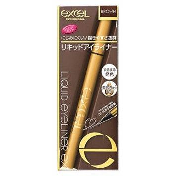 Japan Beauty - Excel liquid eyeliner EX LD02 Brown *AF27*
