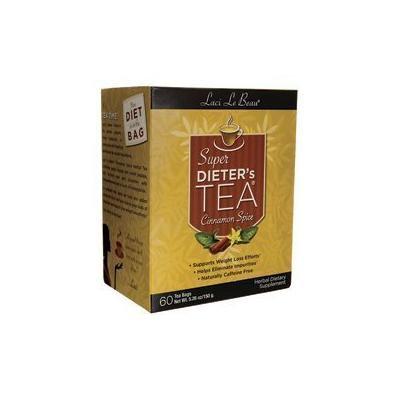 Natrol Laci Le Beau Super Dieter's Tea Cinnamon Spice Box, 5.26 Ounce by Natrol