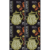 (4 PACK) - Clipper - Organic Assam Tea   125g   4 PACK BUNDLE