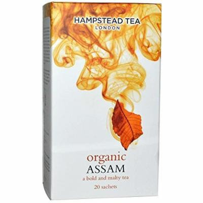 Hampstead Tea, Organic, Assam Tea, 20 Sachets, 1.41 oz (40 g) by Hampstead Tea
