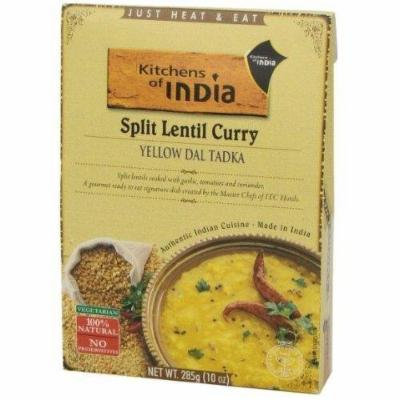 Kitchen Of India Yllw Dal Tadka Split Lentil Curry (6x10 Oz) by NA