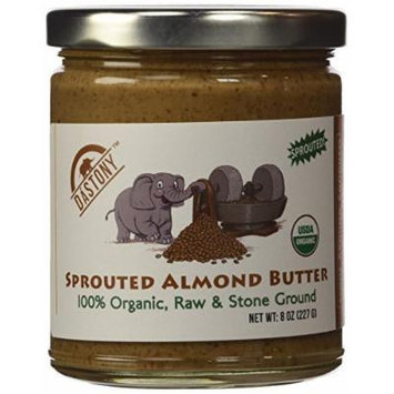 Sprouted Almond Butter 8 oz Jar by Dastony