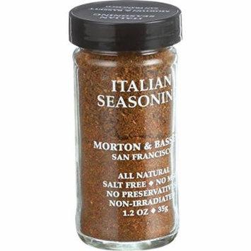 Morton and Bassett Seasoning - Italian Seasoning - 1.5 oz - Case of 3