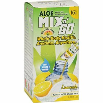 Lily Of The Desert Aloe Drink Mix - Mix N Go Lemonade - 1Ets by Lily Of The Desert