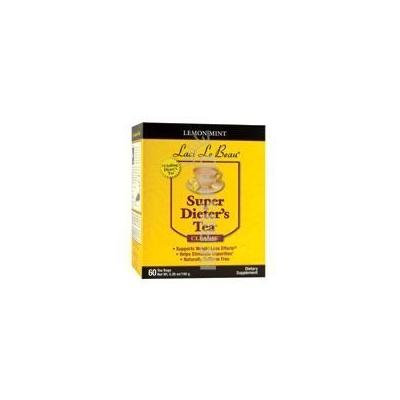 Laci Le Beau Super Dieter's Tea Lemon Mint - 60 Tea Bags by Laci LeBeau