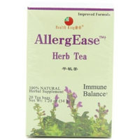 Health King Health King Herb Tea, AllergEase, Teabags, 20-Count Box (Pack of 4) by Health King