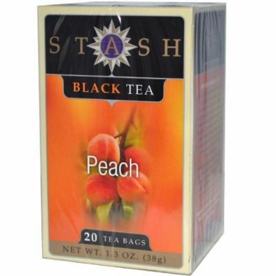 Stash Tea Peach Black Herbal Tea