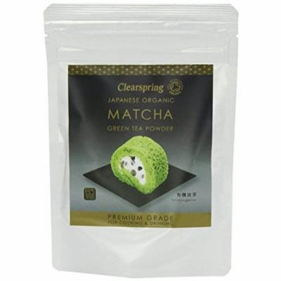 (10 PACK) - Clearspring - Org Matcha Green tea Premium | 40g | 10 PACK BUNDLE by Clearspring