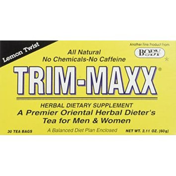 Body Breakthrough Diet Trim-Maxx Tea Lemon - 30 Tea Bags by Body Breakthrough