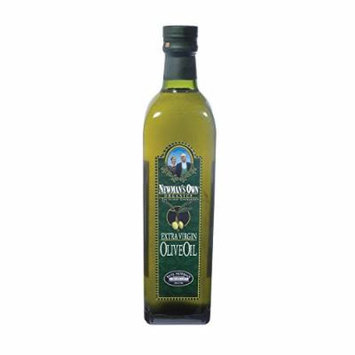 Newmans Own Organics Extra Virgin Olive Oil - Case of 6 - 25.3 Fl oz.