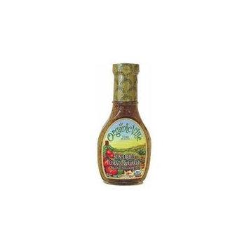 Organicville Organic Vinaigrette Sun Dried Tomato and Garlic -- 8 fl oz by Organicville