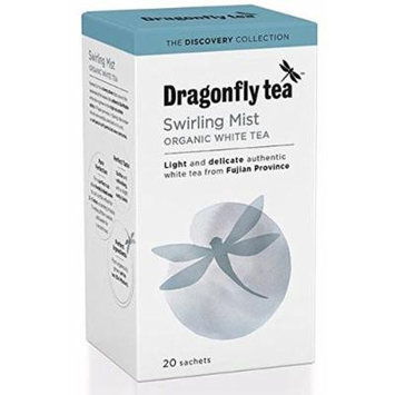 Dragonfly Swirling White Mist Tea 20 Bags (Pack of 10)
