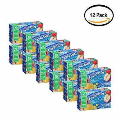PACK OF 12 - Capri Sun Splash Cooler Fruit Juice Drink Blend, 10 count, 60 Fl Oz