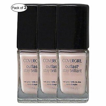 CoverGirl Nail Polish Daisy Bloom (11ml) (Pack of 3)