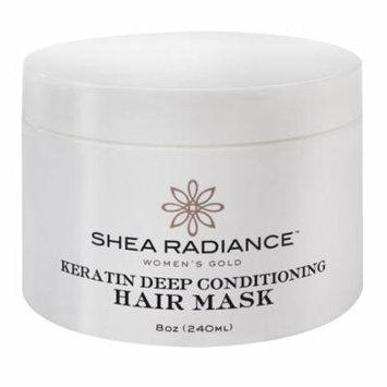 Shea Radiance Keratin Deep Conditioning Mask, 8 Oz