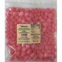 Claeys Sanded Peppermint Candy Drops - 4 lbs.