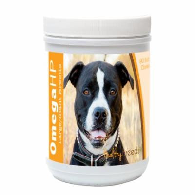 Healthy Breeds Pit Bull Omega HP Fatty Acid Skin and Coat Support Soft Chews