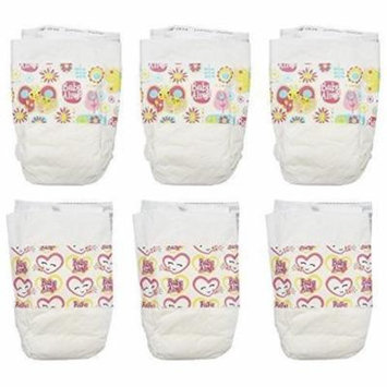 BA: Diaper Refill Pack 18ct (6) Hasbro HSBC3750