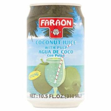 Faraon Young Coconut Juice with Pulp 10.5 fl. oz.
