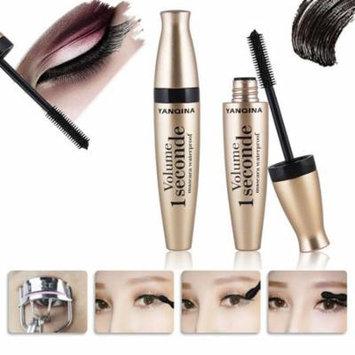 New 1PC Black Mascara Waterproof Quick Dry Lengthening Makeup Mascara Cream GOGBY