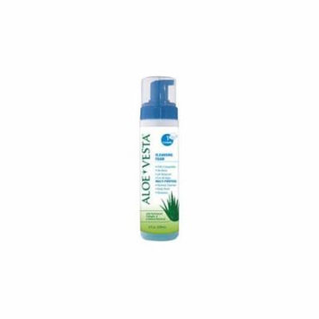 Aloe Vesta Cleansing Foam, 8 oz. Bottle Part No. 325208 Qty Per Case