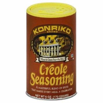 Konriko Creole Seasoning, 6 Oz (Pack of 6)
