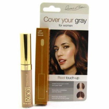Cover Your Gray Root Touch-Up Light Brown/Blonde (3-Pack) with Free Nail File