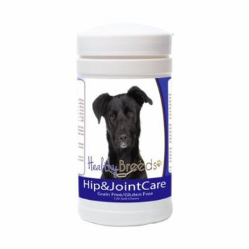 Healthy Breeds Dog Hip and Joint Care Supplement Soft Chews for Mutt, Bacon Flavor, Gluten & Grain Free, Glucosamine Chondroitin Organic Turmeric Support 120 Count