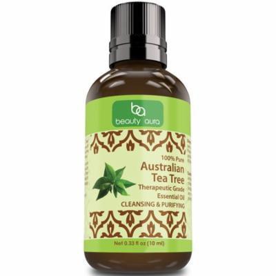 Beauty Aura Australian Tea Tree essential oil 0-33Oz 10ml