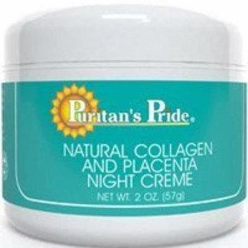 Natural Collagen and Placenta Night Creme- 2 oz.-Cream