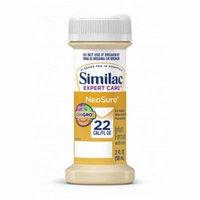 Similac expert care neosure infant formula with iron, 2 oz. part no. 56177 (48/case)