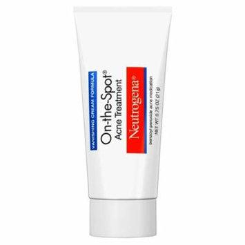 Neutrogena on-the-spot acne treatment, vanishing formula, 0.75 oz part no. 01790 (1/ea)