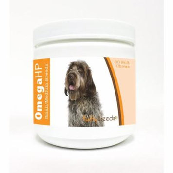 Healthy Breeds Wirehaired Pointing Griffon Omega HP Fatty Acid Skin and Coat Support Soft Chews