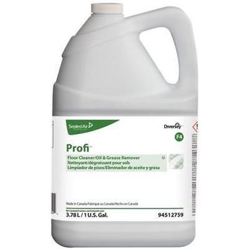 Diversey Profi Floor Cleaner And Grease Remover (4512759), 1 Gallon