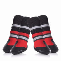 Shoes for Dogs,Medium/Large Dog Rain Boots, Anti-slip Snow Boots Warm Paw Protector for Dog in Winter