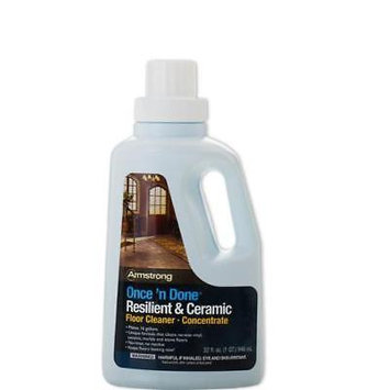 Armstrong Once 'N Done No-Rinse Floor Cleaner Concentrate, 32 Oz (S-338)
