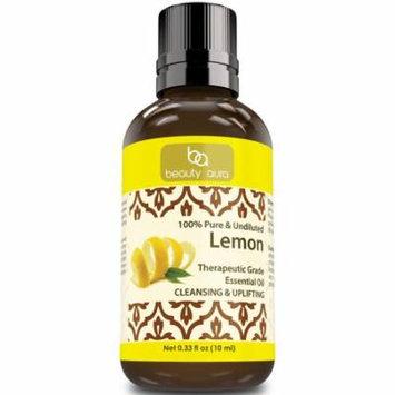 Beauty Aura Lemon essential oil 0-33Oz 10ml