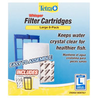 Tetra Whisper Large Filter Cartridges, 8ct