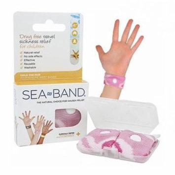 Sea-band wrist band, child, pink part no. 8000025cp (1/ea)