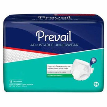 Prevail full coverage protective underwear x-large 58