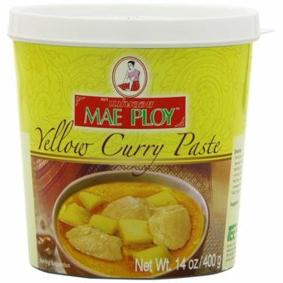 Mae Ploy Thai Yellow Curry Chili Paste 14oz Jar