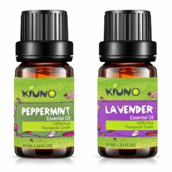 Lavender Peppermint Essential Oil - Top 2 Pure Therapeutic Grade Aromatherapy Oils
