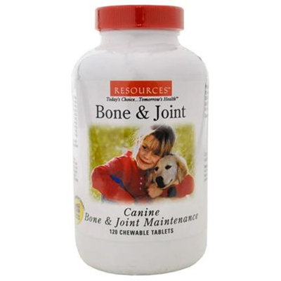 RESOURCES Bone & Joint Maintenance PLUS for CANINE [Options : 120 Tablets]